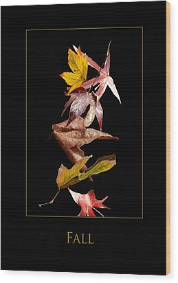 Fall Wood Print by Richard Gordon