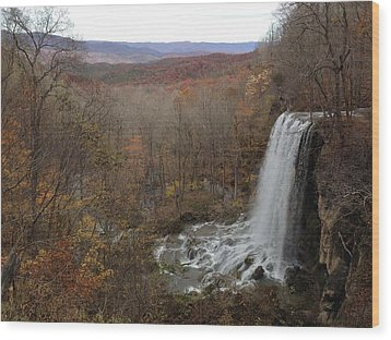 Falling Spring Falls, Va Wood Print