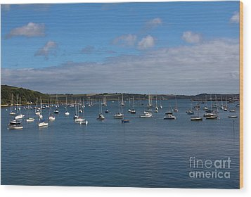 Falmouth Harbour Wood Print by Brian Roscorla