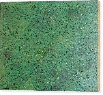 Family Tree Wood Print by Sophia Elise