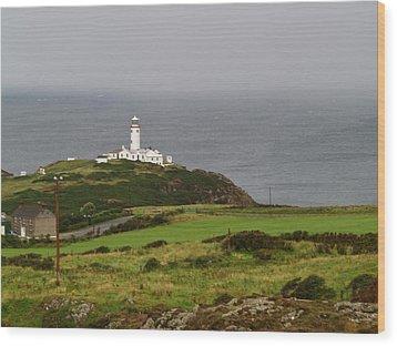 Fanad Head Lighthouse Wood Print