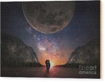 Fantasy Hike Wood Print