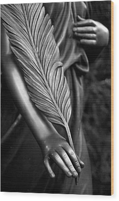 Farewell Wood Print by Marc Huebner