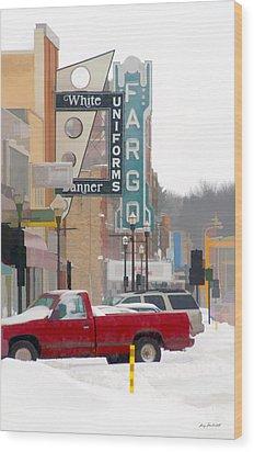 Fargo-1 Wood Print