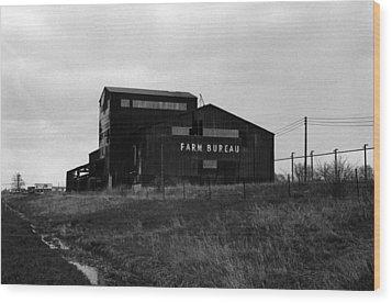 Farm Bureau Kalamazoo Michigan 1975 Wood Print by Wayne Higgs