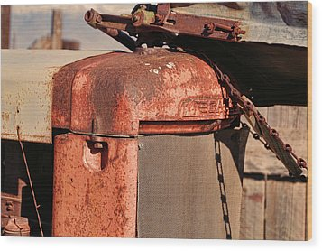 Wood Print featuring the photograph Farm Equipment 8 by Ely Arsha