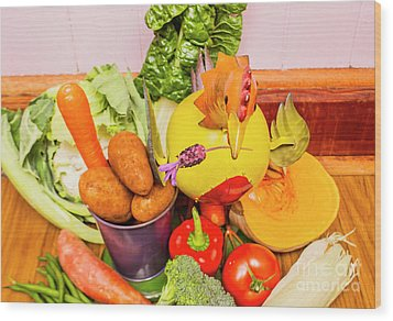 Farm Fresh Produce Wood Print by Jorgo Photography - Wall Art Gallery