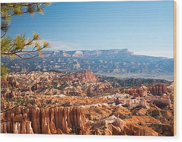 Farview Point, Bryce Canyon N.p. Wood Print