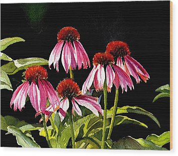 Favour Wood Print by Kathy Nesseth