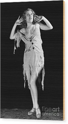 Fay Wray (1907-2004) Wood Print by Granger