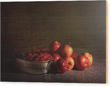 Feast Of Fruits Wood Print