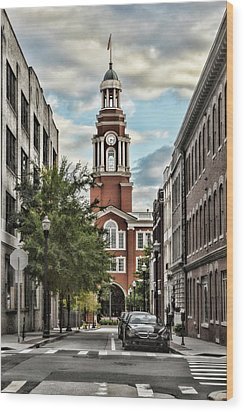 Federal Courthouse Knoxville Wood Print