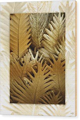 Feeling Nature Wood Print