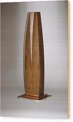 Feminine Wood Print by Robert Hartl