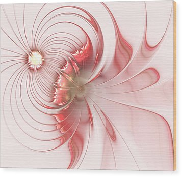 Wood Print featuring the digital art Feminism by Anastasiya Malakhova