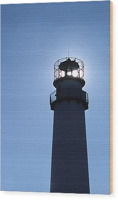 Fenwick Island Lighthouse Wood Print by Skip Willits
