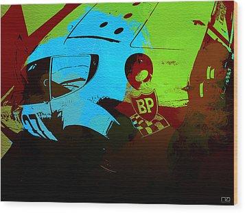 Ferrari 250 Gtb 2 Wood Print by Naxart Studio