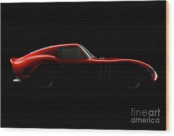Ferrari 250 Gto - Side View Wood Print