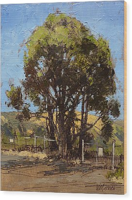 Ferry Point Wood Print by Bill Mather