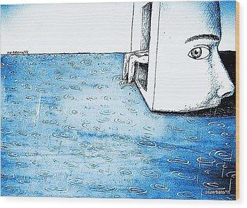 Fertile Imagination Wood Print by Paulo Zerbato