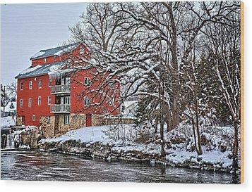 Fertile Winter Wood Print by Bonfire Photography