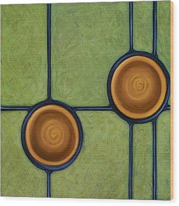 Fervor Wood Print by Don Mullins