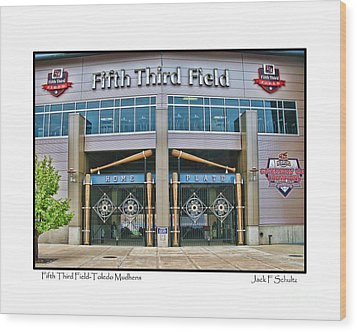 Fifth Third Field Toledo Mudhens Wood Print