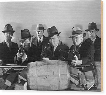Film Still: Gangsters Wood Print by Granger