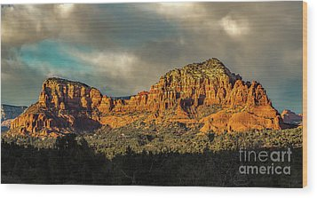 Find The Church Wood Print by Jon Burch Photography