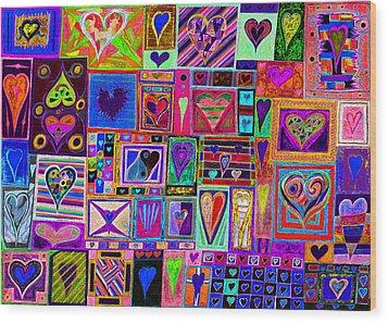 Find U'r Love Found 2 Wood Print