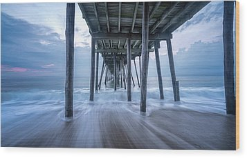 Wood Print featuring the photograph Finding Peace by Bernard Chen