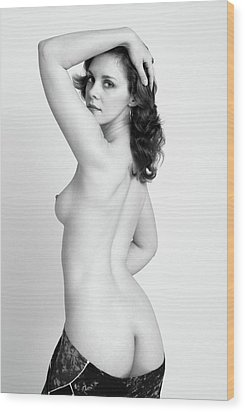 Fine Art Pin-up Wood Print by Harry Spitz
