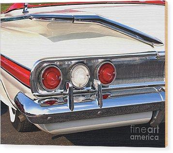 Fins Were In - 1960 Chevrolet Wood Print