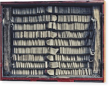 Fire Hose Wood Print