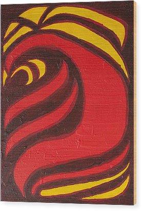Fire Wood Print by Joseph Bradley