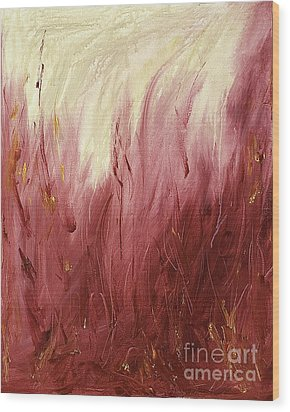 Fire Wood Print by Silvie Kendall