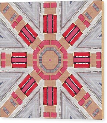 Firehall 2315k8 Wood Print by Brian Gryphon