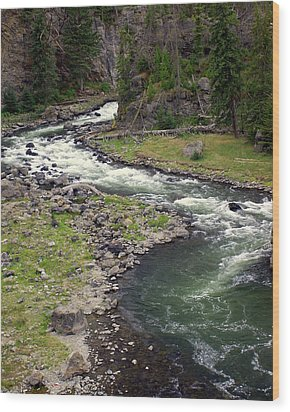 Firehole River 2 Wood Print by Marty Koch