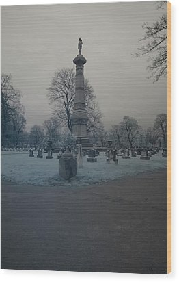 Wood Print featuring the photograph Firemens Grove by Joshua House