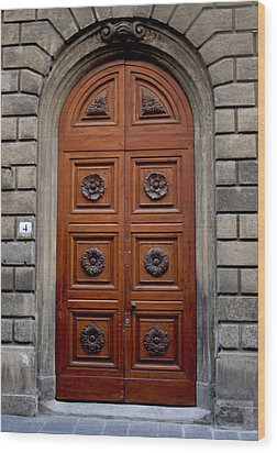 Firenze Door Wood Print
