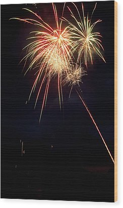 Fireworks 49 Wood Print by James BO  Insogna