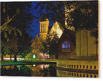 First Presbyterian From Kleinhans Wood Print by Don Nieman