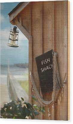 Wood Print featuring the photograph Fish Fileted by Lori Deiter