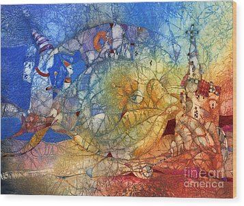 Fish Wood Print by Svetlana and Sabir Gadghievs