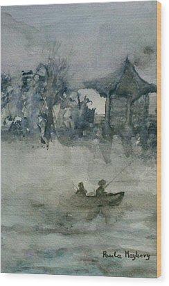 Fishermans Rest Wood Print