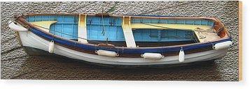 Fishing Boat Wood Print by Svetlana Sewell
