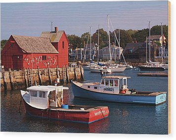 Wood Print featuring the photograph Fishing Shack by John Scates