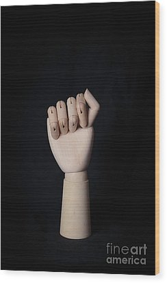 Wood Print featuring the photograph Fist by Edward Fielding
