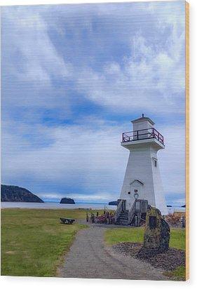 Five Islands Lighthouse Wood Print