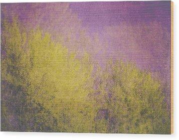 Wood Print featuring the photograph Flaming Foliage 3 by Ari Salmela